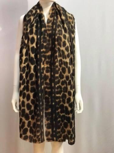Stampa Leopardata Donna Sciarpa Donna Inverno Scialle Pashmina Stola Coperta Avvolgere Animale