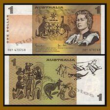Australia 1 Dollar, 1983 P-42d Queen Elizabeth II Unc