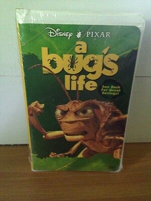 A Bug S Life Disney Vhs 1999 New Sealed Hopper Cover Clamshell Case 786936088250 Ebay