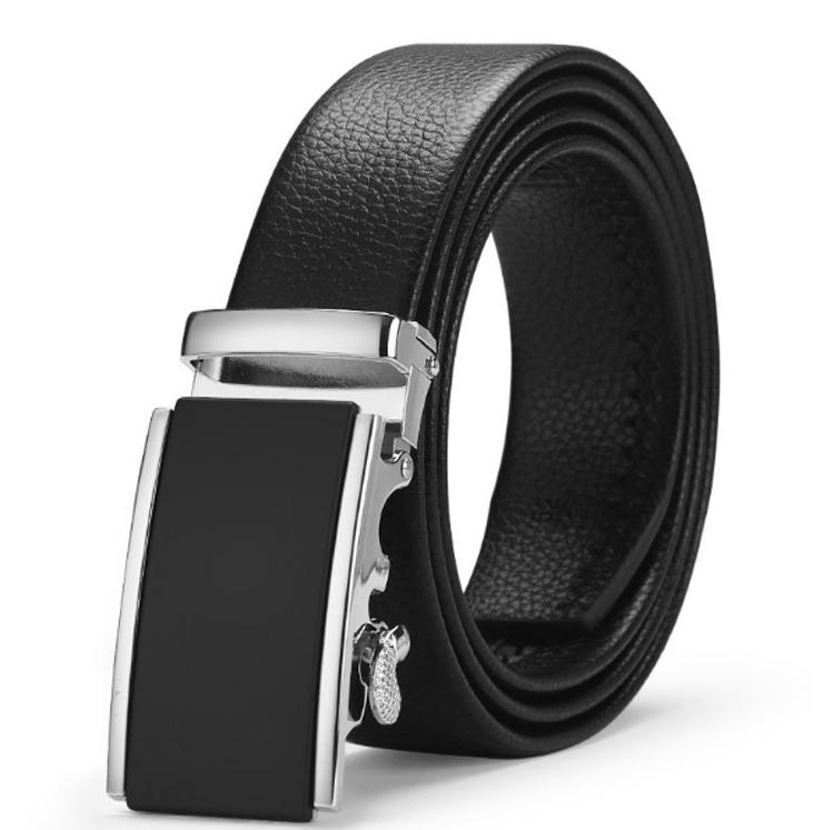 Herren Gürtel Automatik Leder Anzug Jeans Designer kürzbar breit NEU