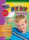 Preschool Fun - English Sticker Activities by Popular Book Company (Paperback / softback, 2015)
