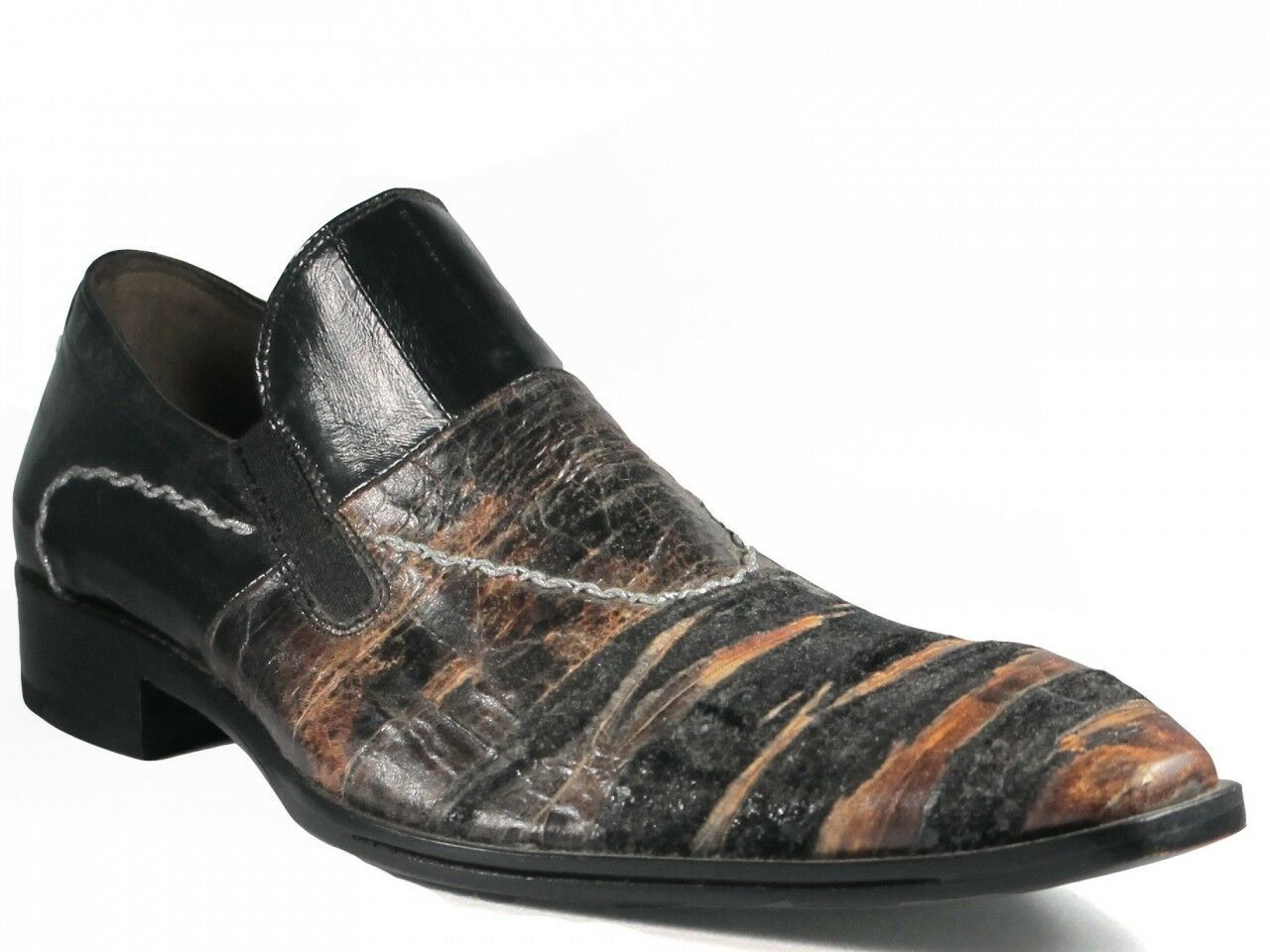 Davinci Italian Men's Dressy Slip-on scarpe leather 2511