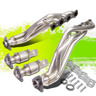 For 99 04 Ford F150 Heritage 5 4l V8 High Flow Long Tube Exhaust Manifold Header Ebay