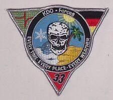 Luftwaffe Aufnäher Patch JaBoG 33 KDO-Forces Jagdbombergeschwader 33 ......A2143
