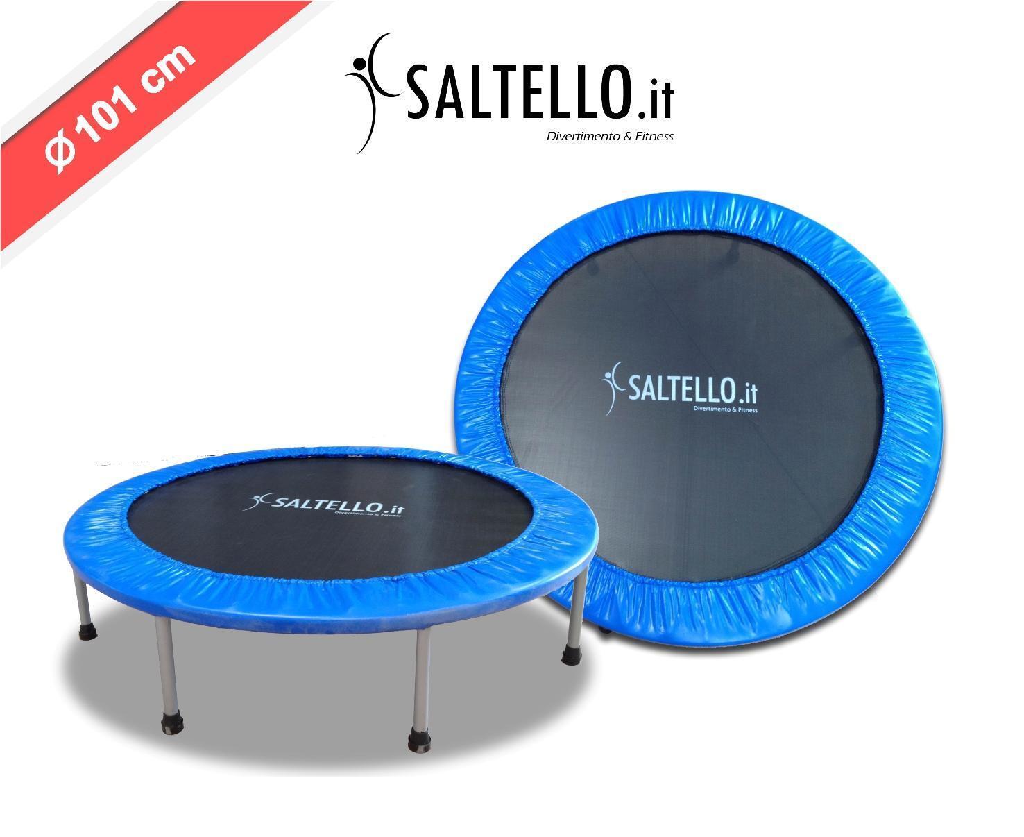 Mini trampolino fitness jump saltello diametro 101 cm codice fj101 offerta tra