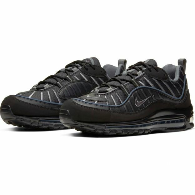 Scarpe Uomo Sneakers Nike Air Max 98 (NeroGrigio)