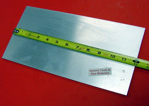 3/4 X 6 ALUMINUM 6061 FLAT BAR 12 long T6511 .75 Thick Plate New Mill Stock