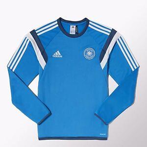 big discount size 40 picked up Details about Adidas DFB Deutschland Training Shirt blau 2014 Germany -  size M - Mercedes Benz