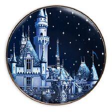 SLEEPING BEAUTY CASTLE Dessert Plate ~Disney Exclusive  60th Diamond Anniversary