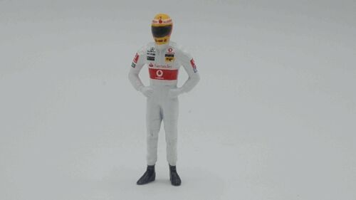 Cartrix CT22 1//43 escala Lewis Hamilton 2008 McLaren F1 ™ Diecast Figura