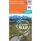 Rum, Eigg, Muck, Canna and Sanday by Ordnance Survey (Sheet map, folded, 2015)