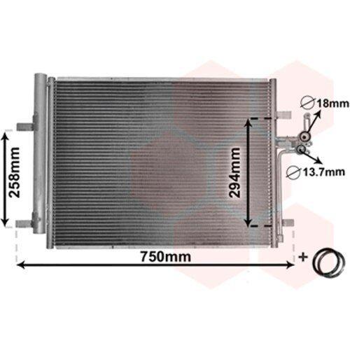 Kondensator Klimaanlage für Klimaanlage MAXGEAR AC894995
