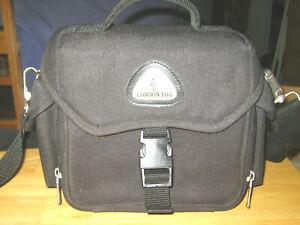 London Fog Camera Case Black 10 X 8 X 5 Ebay