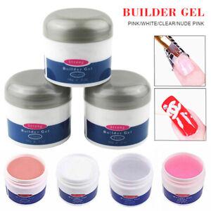 Pro-Nail-Art-UV-LED-Hard-Builder-Gel-56g-2oz-Nails-Manicure-Beauty-Salon-Tool