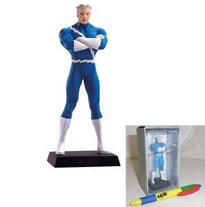 QUICKSILVER-Lead-METAL-Figure-71-Marvel-EAGLEMOSS-Collection-MINT-BOX-No-Mag
