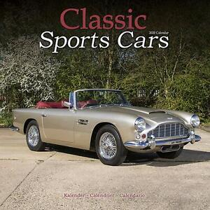 Calendrier Fun Car 2020.Details About Classic Sports Cars 2020 Wall Calendar Brand New 807343