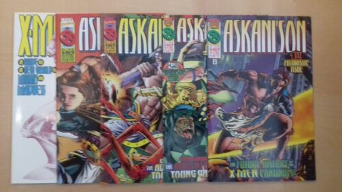 Askani´son 1-4 US-Marvel Book 5 Issues