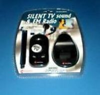 Silent Tv Sound & Fm Radio By Columbia Telecommunications. Free Shipping
