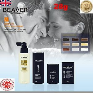 Beaver-Hair-Building-Fibres-Keratin-Thickening-Fibers-Concealer-Fixing-Spray