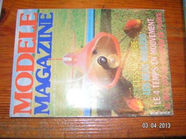 !& Modele Magazine n°382 Laser 200 Picnit 222 Schluter Mini K zéro Cessna 172
