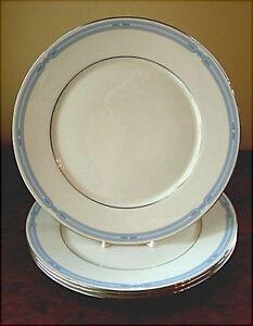 Lenox-COURTLAND-4-Dinner-Plates-Factory-Seconds-fantastic-condition