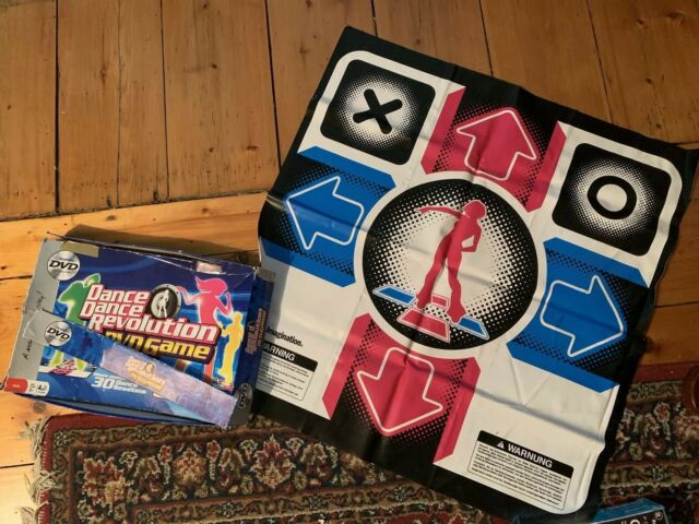 Dance Dance Revolution 2 Replace Game Dance Pads Imagination DVD TV Games 2006