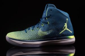 Nike Air Jordan 31 XXXI Rio Green Abyss Comfortable Comfortable and good-looking