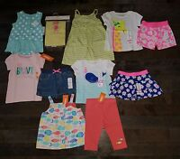 Lot Of Summer Clothes & Outfits Size 18-24 Months Girls Gymboree Fish