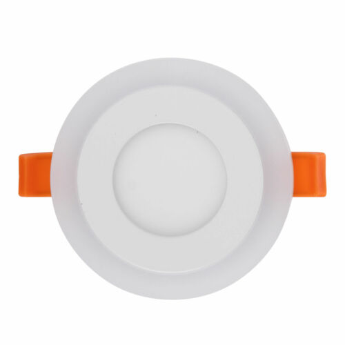 3 Mode Dual Color LED Recessed Ceiling Panel Down Light Lamp 100-265V Ultra thin