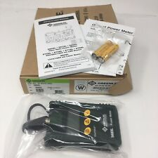 New Greenlee 568xl High Intensity Optical Power Meter Fiber Optic Tester