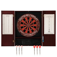 Steel Tip Dartboard and Cabinet - Southern Comfort