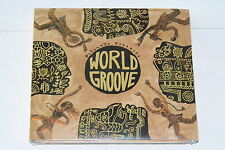 WORLD GROOVE - VARIOUS ARTISTS - MUSIC CD RELEASE YEAR:2004 NEW SEALED
