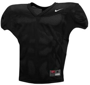 $55 New Nike Men's Team Velocity Black Mesh Practice Jersey SZ XL