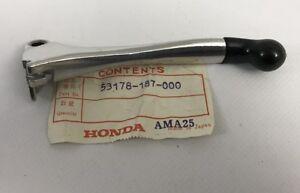 Front Left Lever # 53178-187-000 NOS OEM Honda CHF50S PA50II +