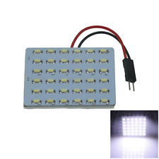 1x Yellow AUTO Panel Door Lamp Reading Light 48 1210 SMD LED T10 festoon J107