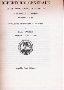 Hn-Sambon-Repertorio-General-de-Monedas-Gepragt-Nuevo-amp-Embalaje-en-Italia-y-De