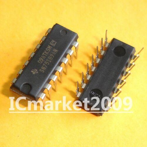 50 piezas SN75189AN DIP-14 SN75189 receptores de línea cuádruple