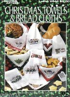 Christmas Towels & Bread Cloths 24 Designs To Make Cross Stitch Leaflet