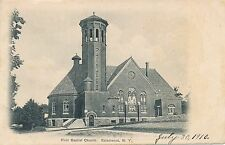SALAMANCA NY – First Baptist Church – udb (pre 1908)