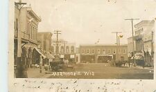 Wisconsin, WI, Mazomanie, Street Scene UDB (pre-1907) Real Photo Postcard