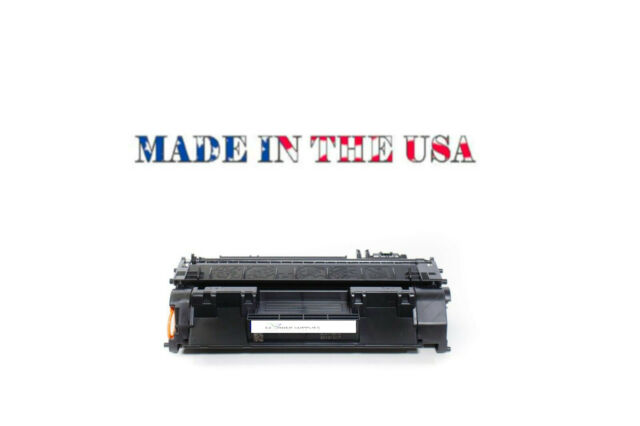 HP CE505A 05A Replacement Toner Cartridge LaserJet P2035, P2055 USA MADE