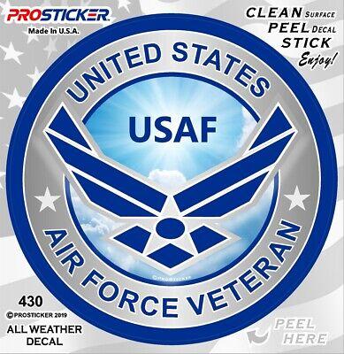 """ProSticker 1074 4/"""" United States Navy USN Vietnam Veteran Decal Sticker One"""