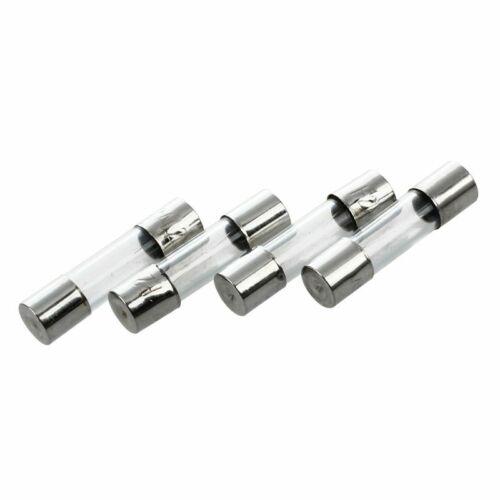 R SODIAL 10 Stueck Flinke Art Glasrohr Sicherungen 5 x 20mm 250V 2A L6Z2 VY7