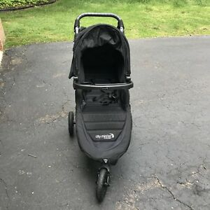 Details About Baby Jogger City Mini Gt Black Single Seat Stroller Plus Lots Of Accessories