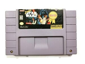 Super-Star-Wars-SUPER-NINTENDO-SNES-Game-Cartridge-Tested-amp-Working-AUTHENTIC