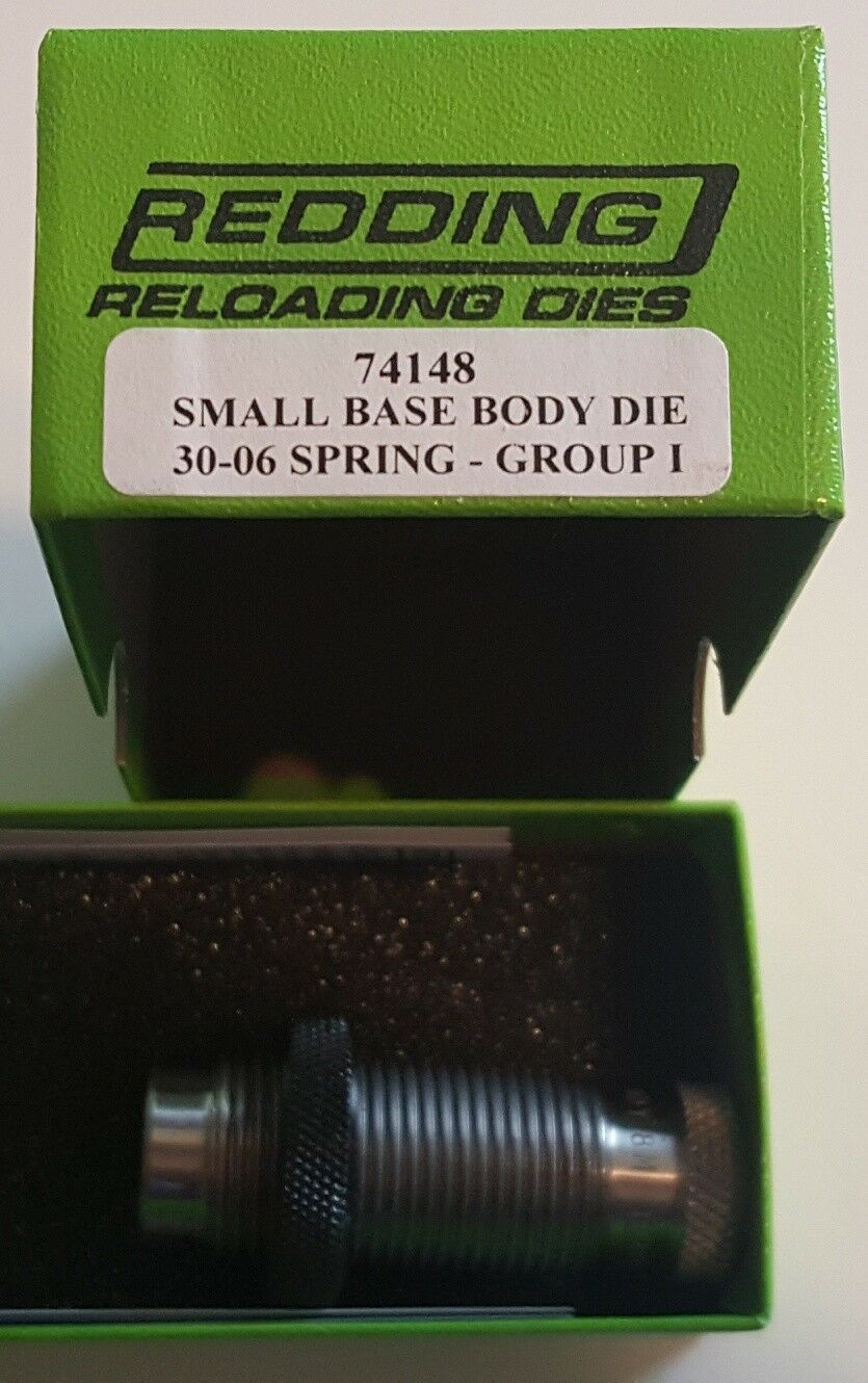 74148 REDDING SMALL BASE BODY SIZING DIE - 30-06 SPRINGFIELD - BRAND NEW