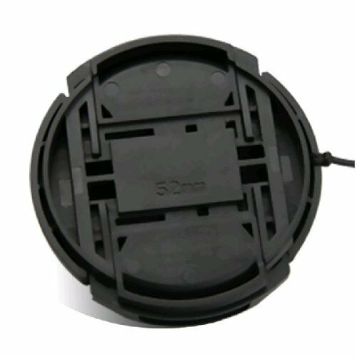 52 mm lente tapa cubierta Snap-On para Nikon AF-S DX lente 4.0-5.6//55-200mm Vr Ii Ed