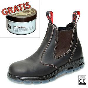 Redback-Work-Boots-Sicherheitsschuh-Arbeitsschuh-Stahlkappe-USBOK-Braun-Zugabe