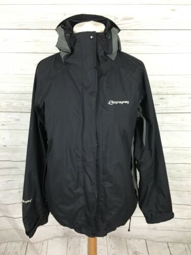 Uk14 Great Condition Jacket Kvinders Sprayway Atlanta Black qq6A0