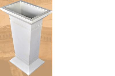 Design Säule Schirm Ständer Stand Fuß Für Regenschirm Säulen Skulptur Dekoration
